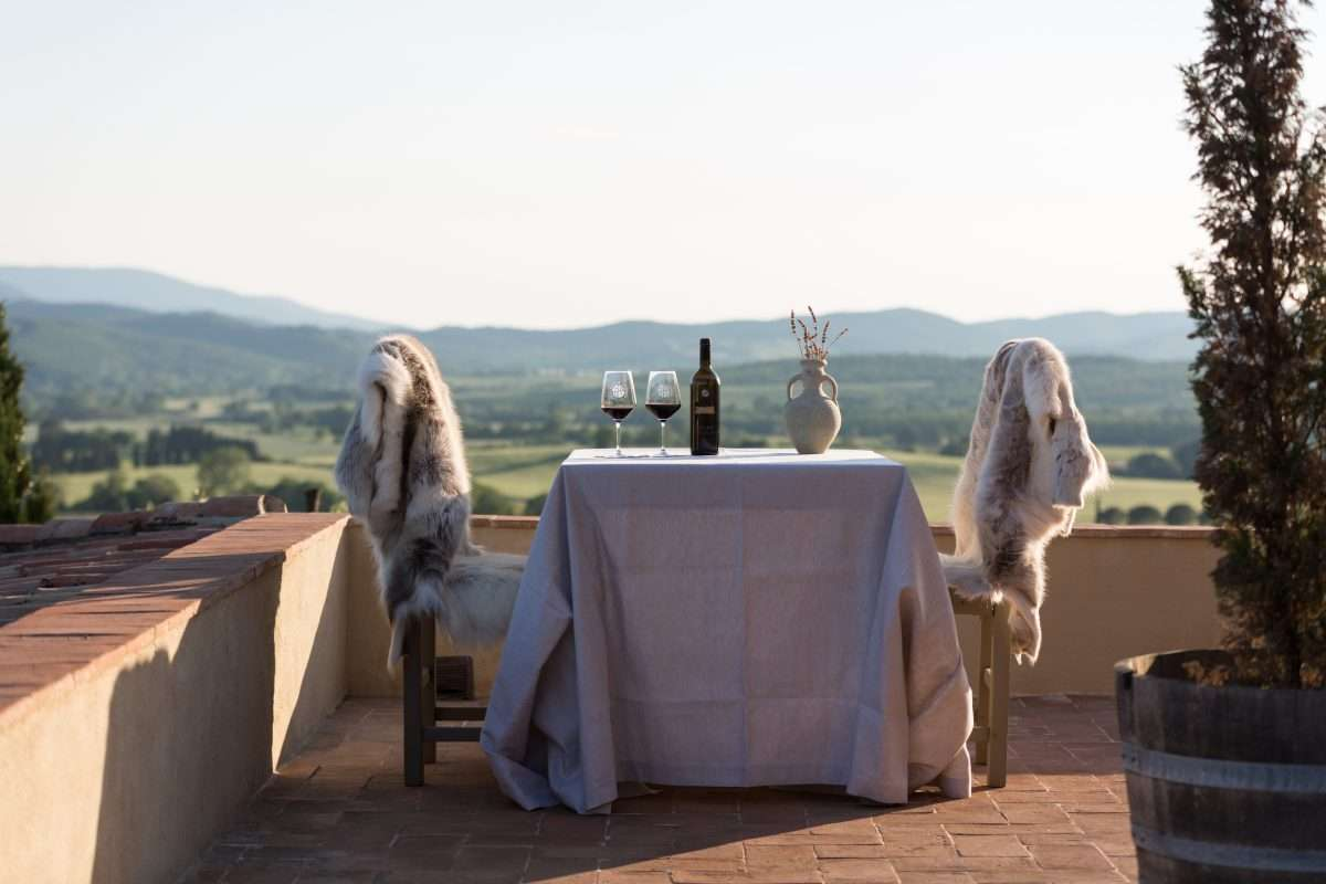 Private Dining on your Terrace