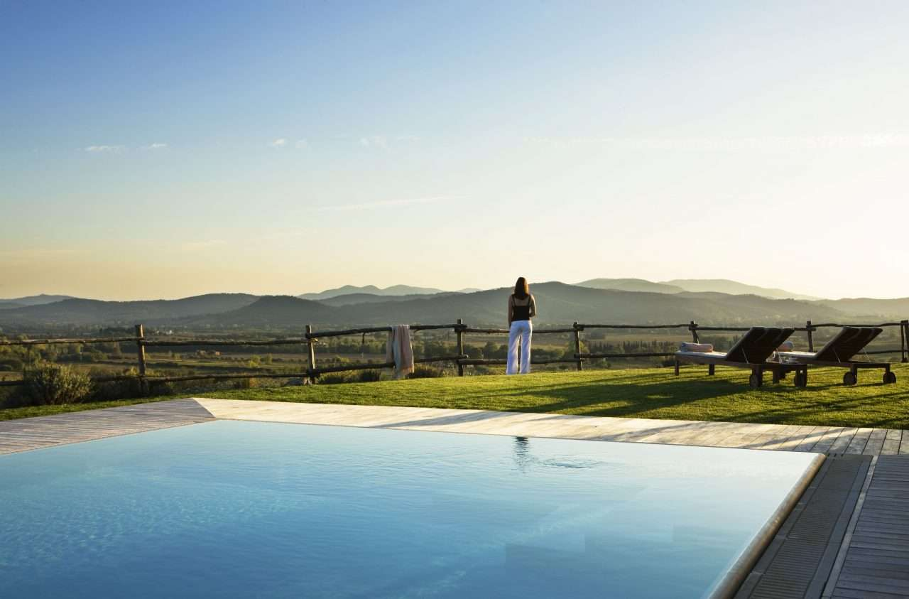 Contemplate life at the Infinity Pool