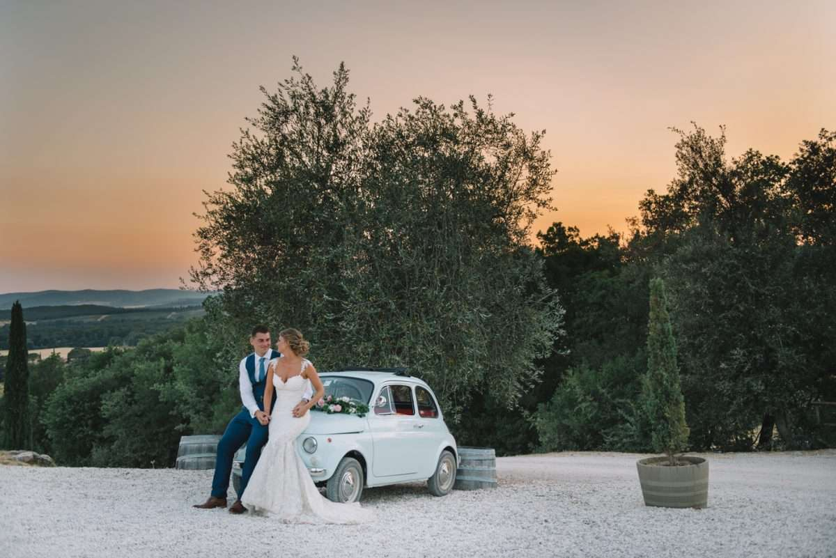 Italian Vintage Wedding Car