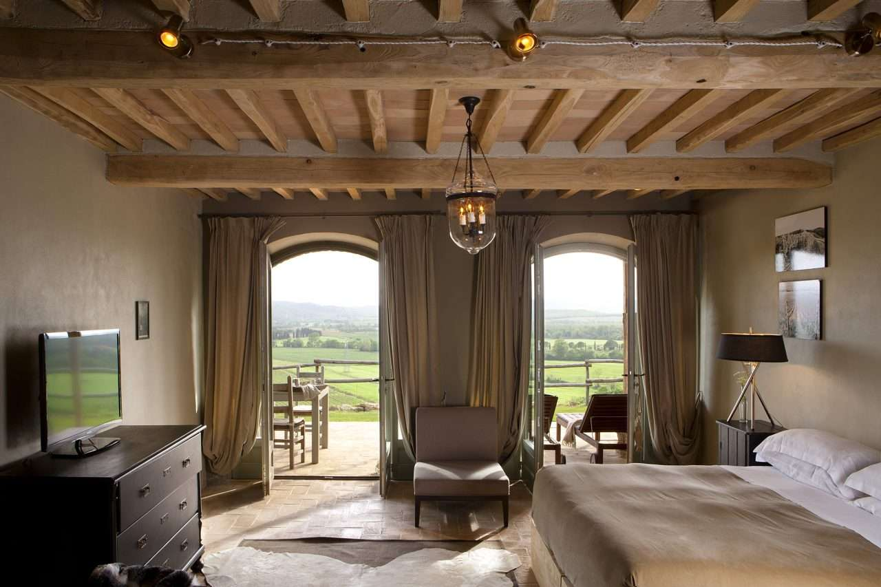 Vineyard Suites have one of the best views in Tuscany