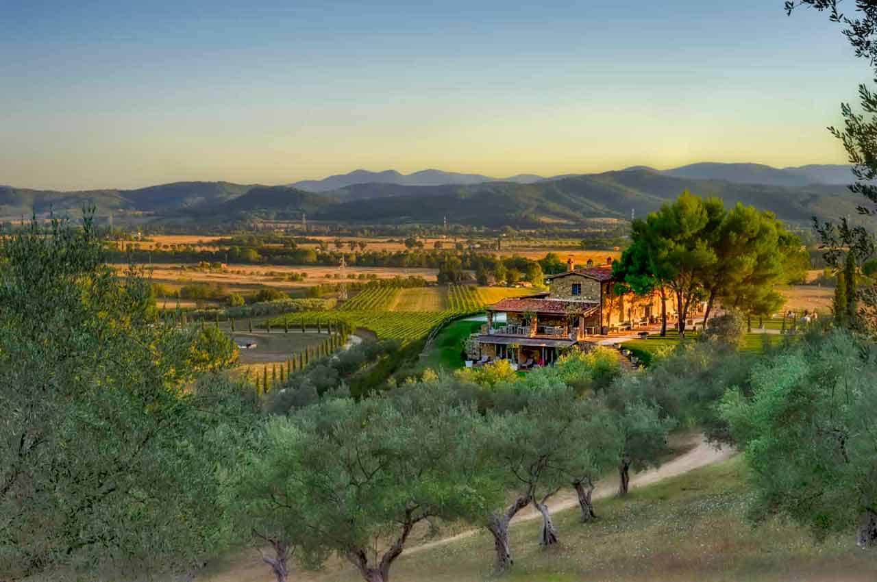Best Boutique Vineyard Hotel In Tuscany Book Direct For Best Rates